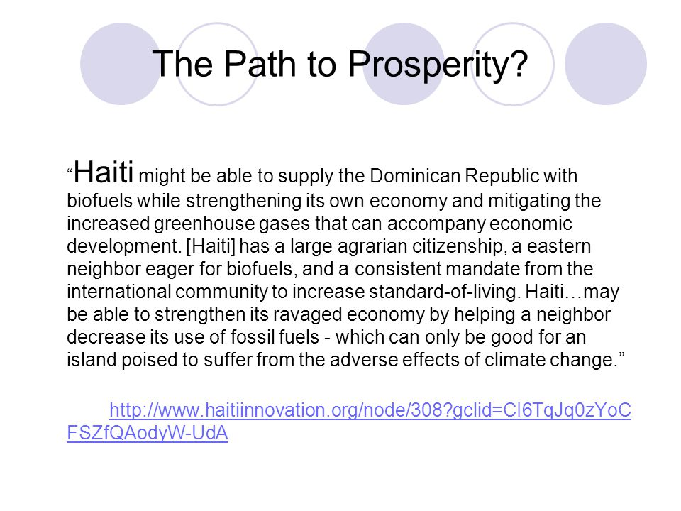 The Path to Prosperity.
