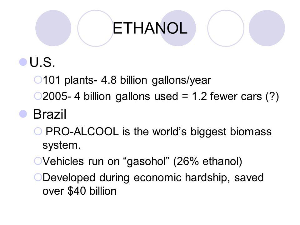 ETHANOL U.S.