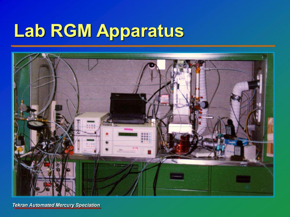 Tekran Automated Mercury Speciation Lab RGM Apparatus