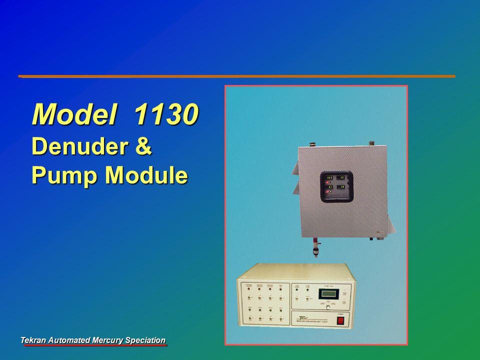 Tekran Automated Mercury Speciation Model 1130 Denuder & Pump Module