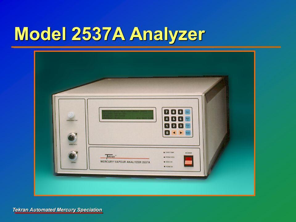 Tekran Automated Mercury Speciation Model 2537A Analyzer