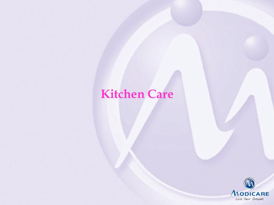 FAIRPLAYQUALITYCREATIVITY & INNOVATIONTEAMWORK Kitchen Care