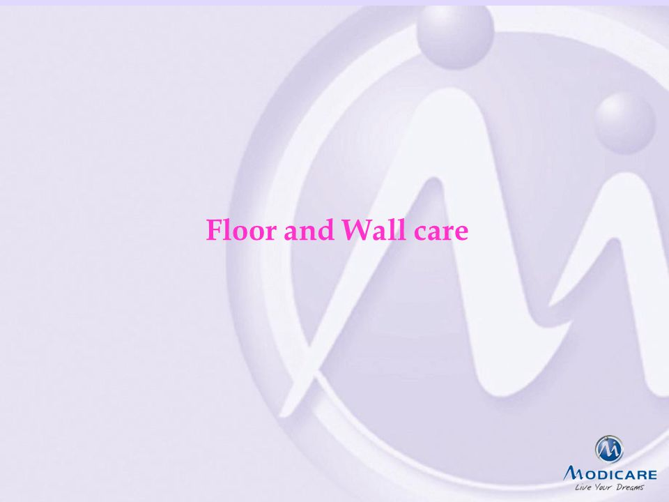 FAIRPLAYQUALITYCREATIVITY & INNOVATIONTEAMWORK Floor and Wall care