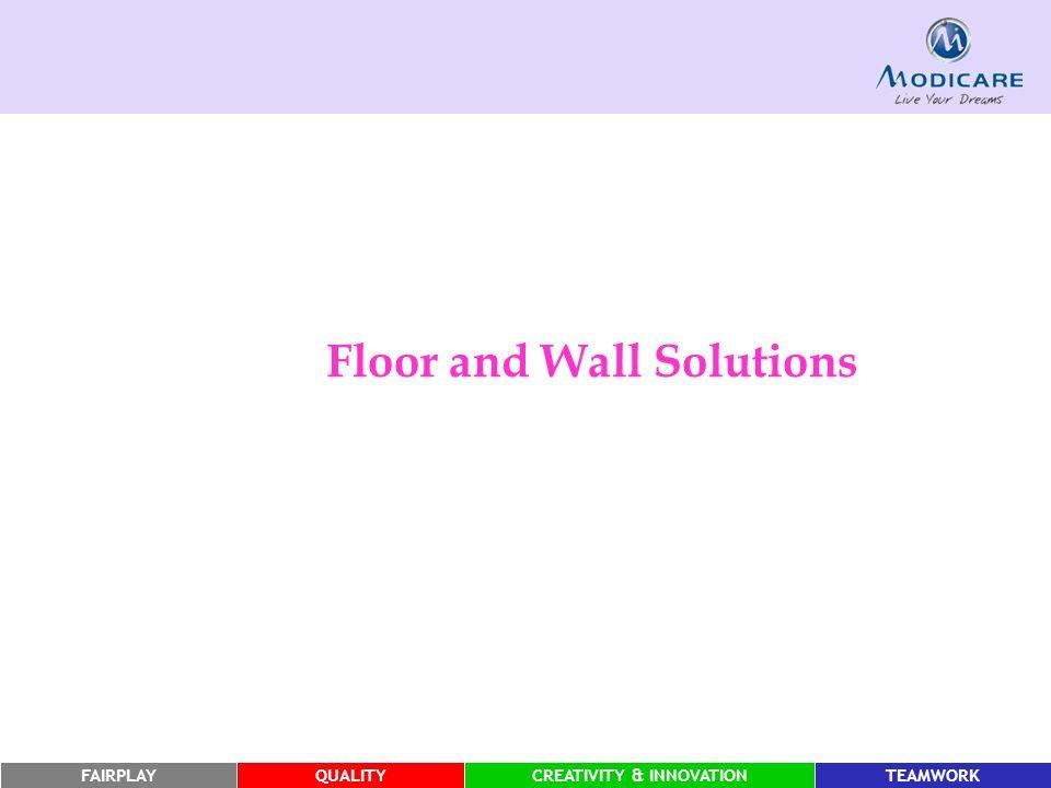 FAIRPLAYQUALITYCREATIVITY & INNOVATIONTEAMWORK Floor and Wall Solutions