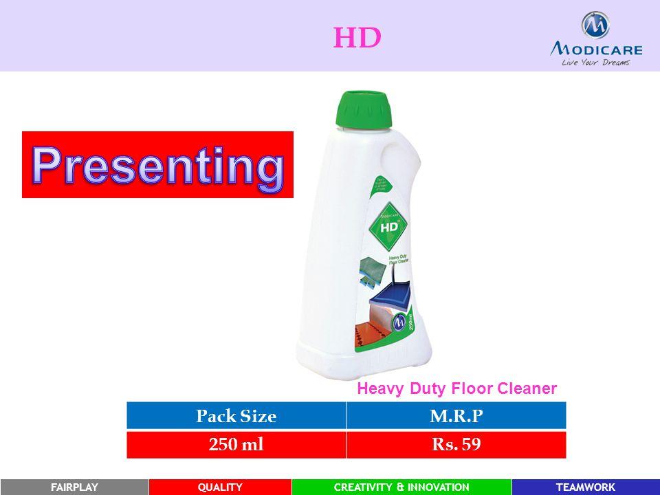 FAIRPLAYQUALITYCREATIVITY & INNOVATIONTEAMWORK HD Pack SizeM.R.P 250 mlRs.
