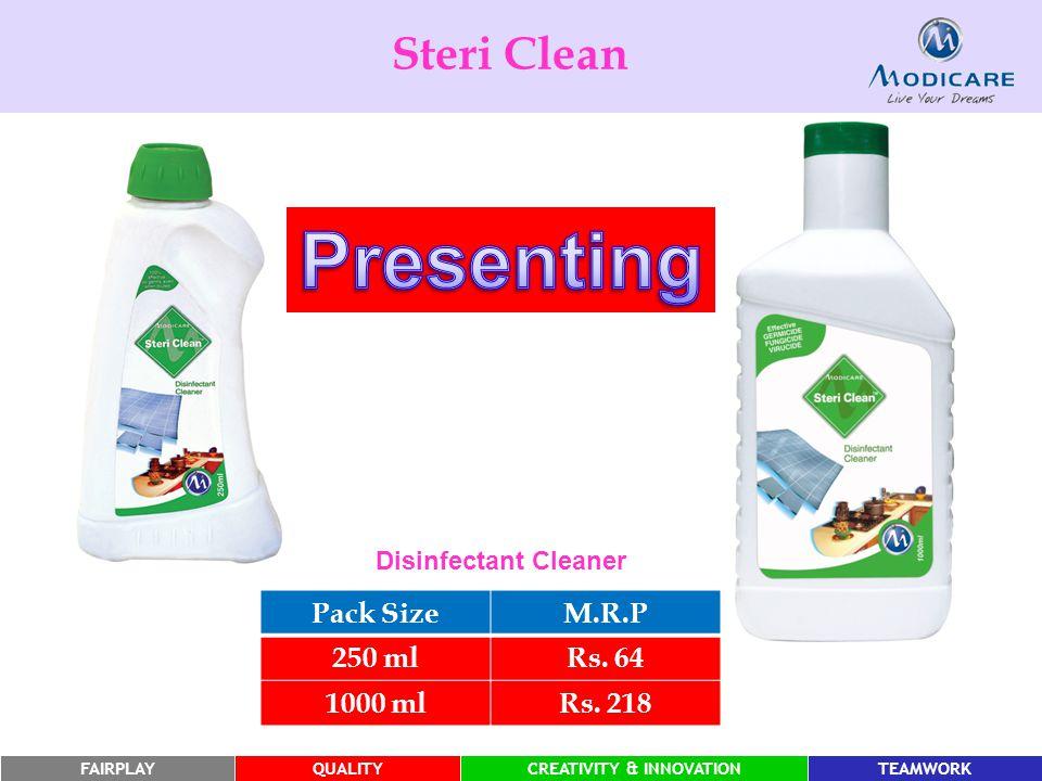 FAIRPLAYQUALITYCREATIVITY & INNOVATIONTEAMWORK Pack SizeM.R.P 250 mlRs.