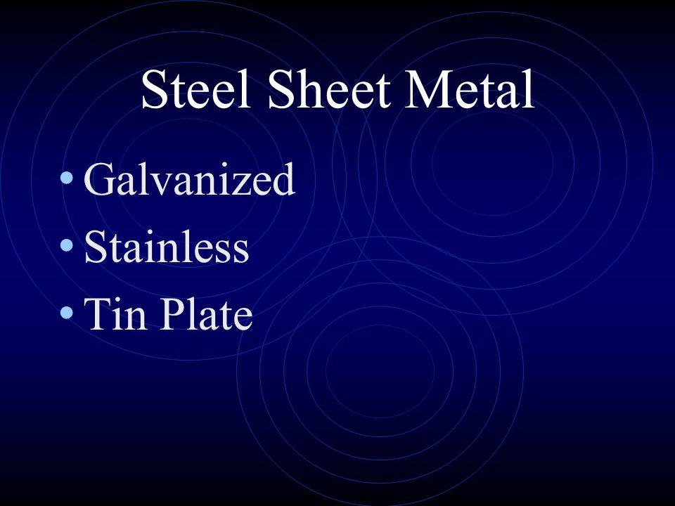 Non-Steel Sheet Metal Copper Aluminum Lead Zinc