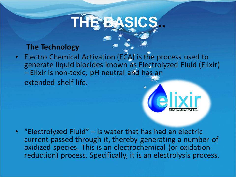 ELIXIR ECA SOLTIONS PVT LTD.