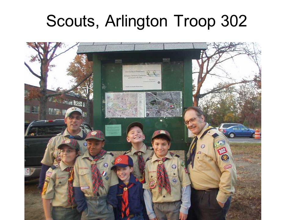Scouts, Arlington Troop 302