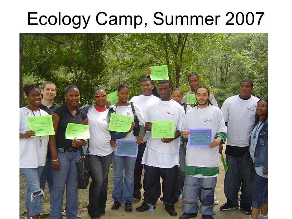 Ecology Camp, Summer 2007