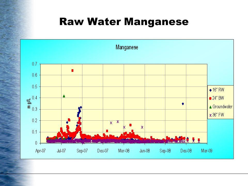 Raw Water Manganese