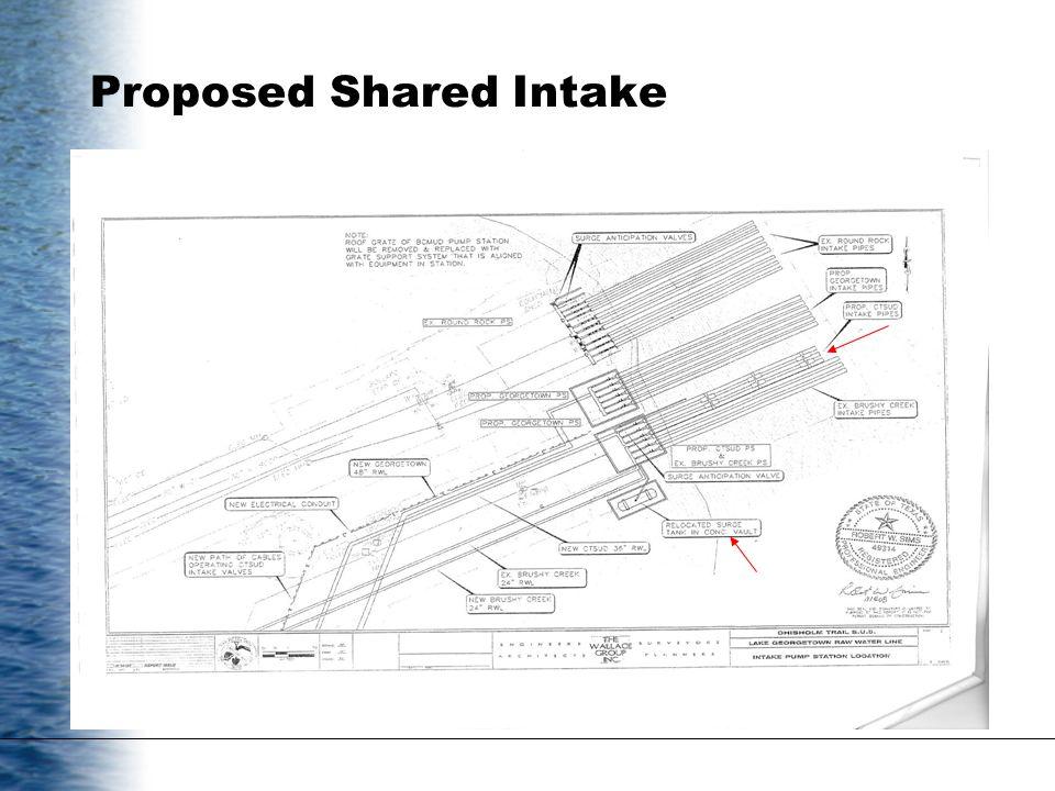 Proposed Shared Intake