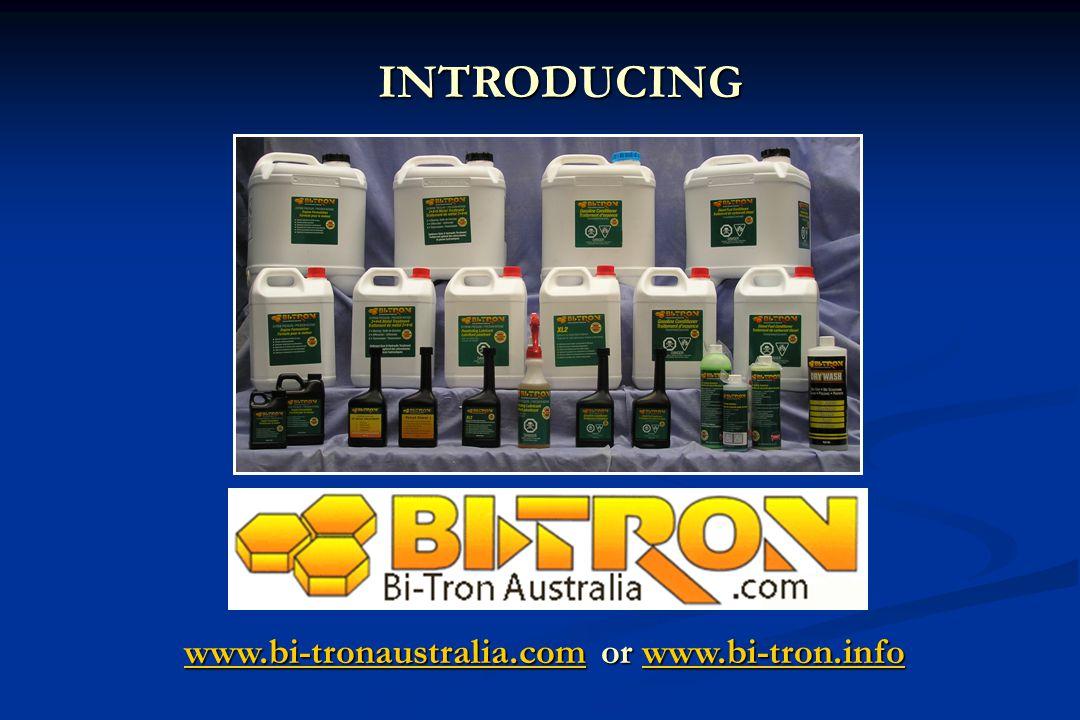 www.bi-tronaustralia.comwww.bi-tronaustralia.com or www.bi-tron.info www.bi-tron.info www.bi-tronaustralia.comwww.bi-tron.infoINTRODUCING