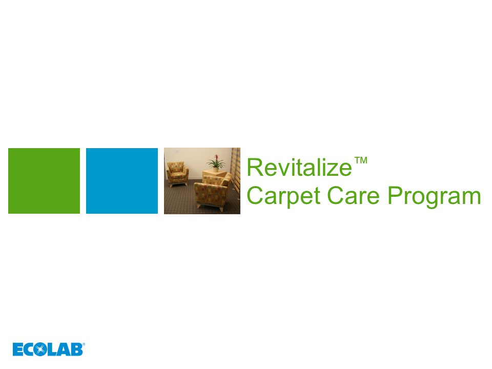 Reflect your commitment to care  Comprehensive protection for complete confidence  Ecolab can help