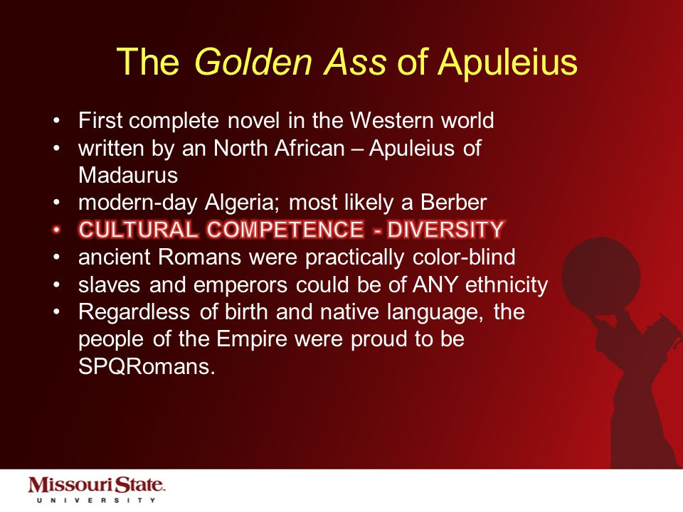 Living the public affairs mission - #CitizenBear The Golden Ass of Apuleius So