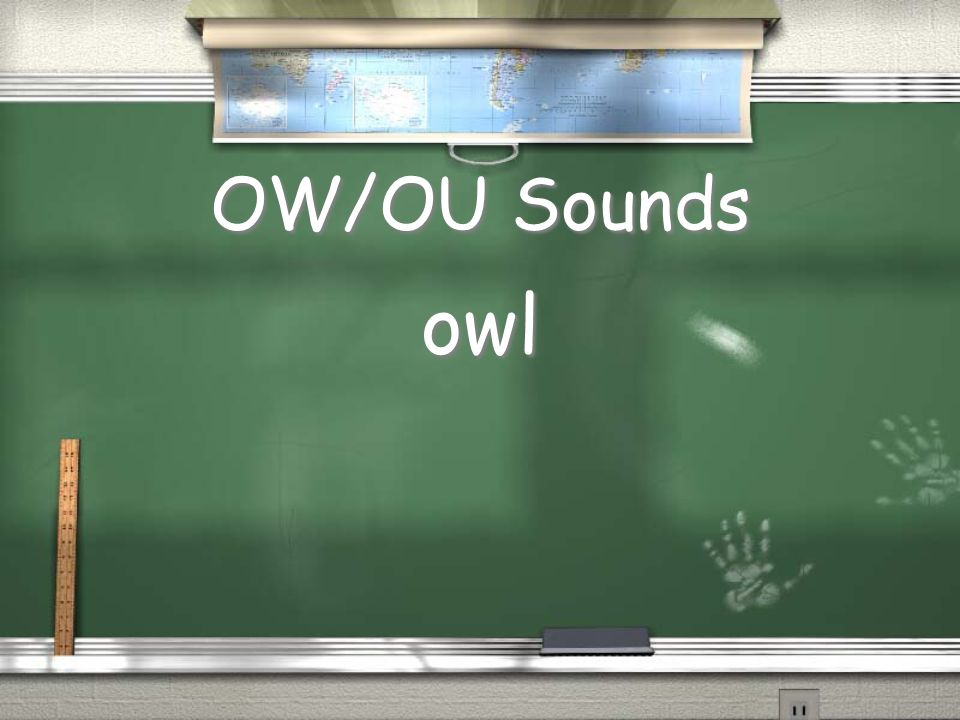 OW/OU Sounds owl