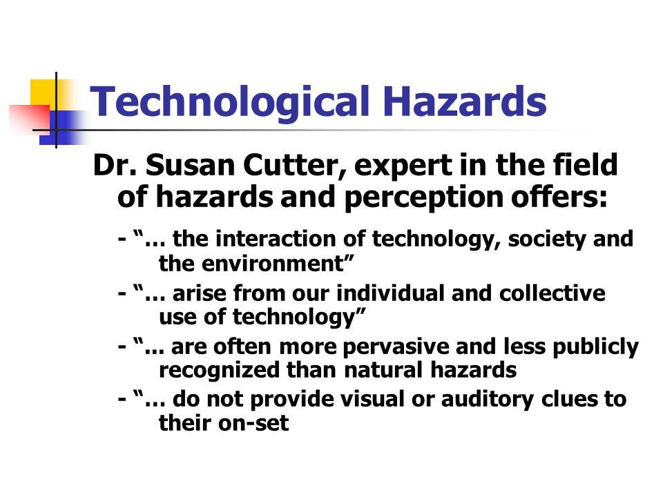Technological Hazards Dr.