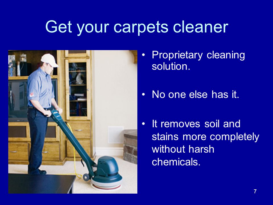 Other Services Clean and care for Hardwood Floors Clean and seal Tile and Grout Floors Clean and protect Upholstery Clean and sanitize Mattresses Clean upholstery and carpet in Cars and RVs Clean and moisturize Leather 18