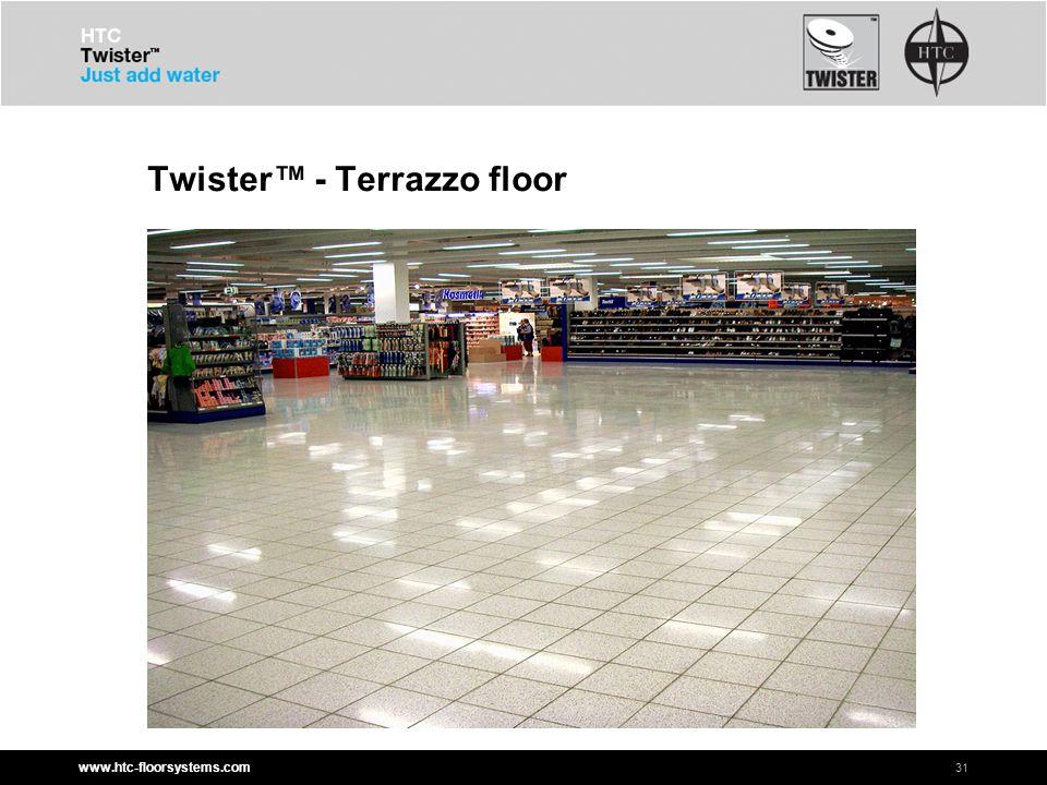 www.htc-floorsystems.com Twister™ - Terrazzo floor 31