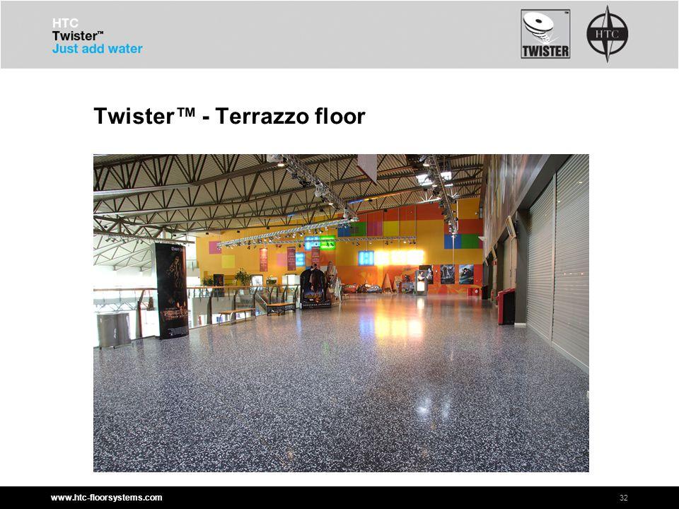 www.htc-floorsystems.com Twister™ - Terrazzo floor 32