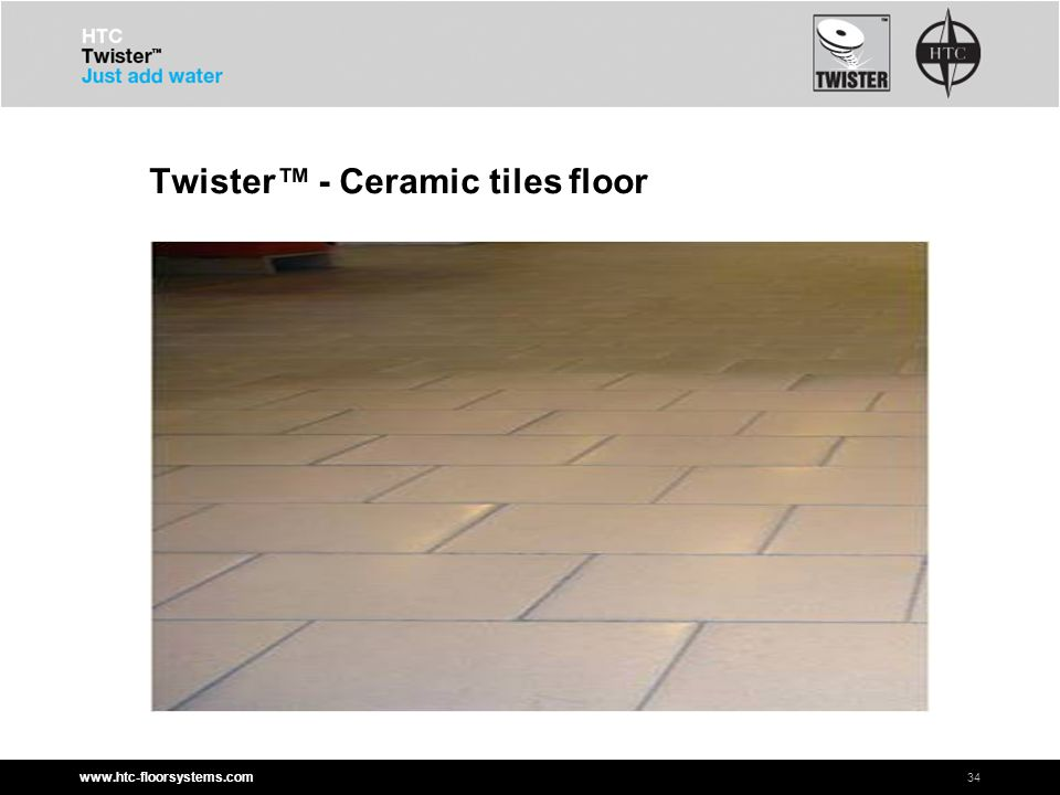 www.htc-floorsystems.com Twister™ - Ceramic tiles floor 34