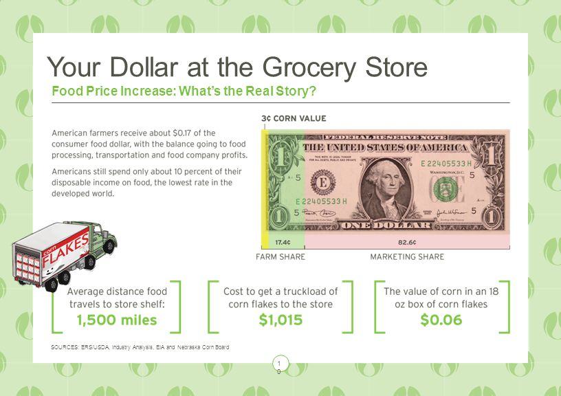 Your Dollar at the Grocery Store Food Price Increase: What's the Real Story.