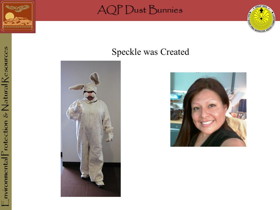 AQP Dust Bunnies Environmental Protection & Natural Resources Speckle was Created