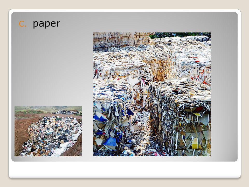 C. paper