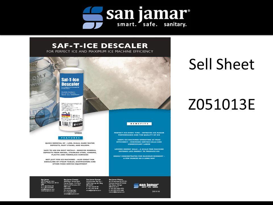 Sell Sheet Z051013E