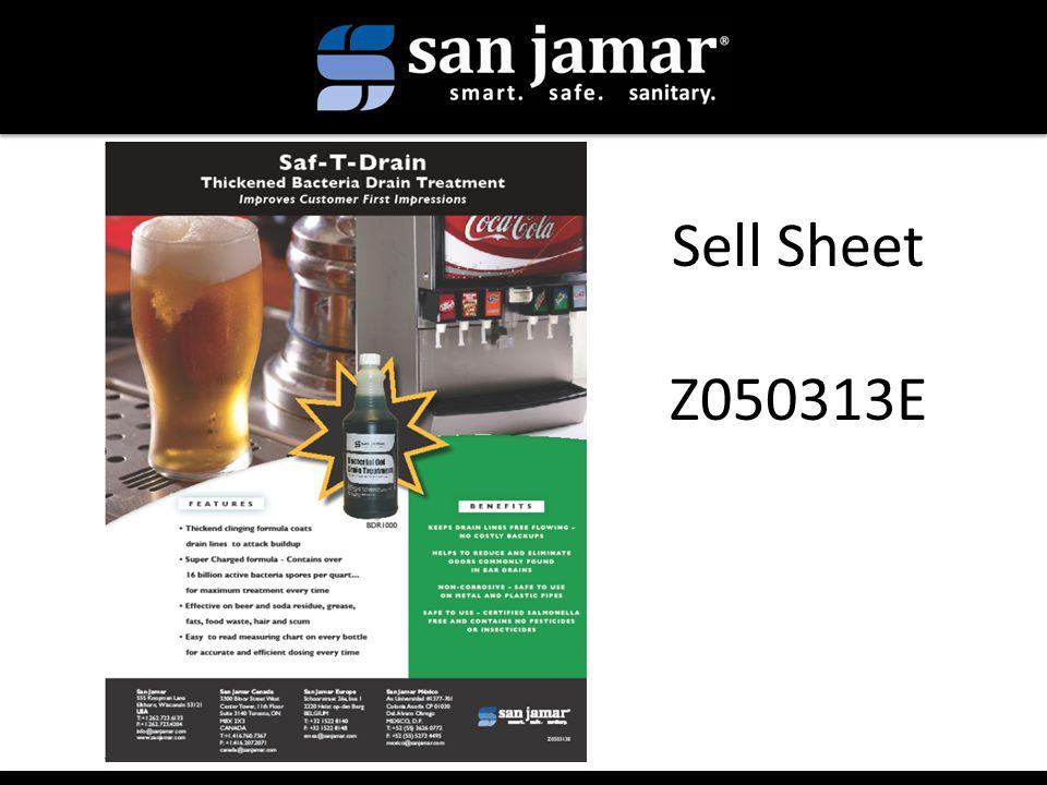 Sell Sheet Z050313E