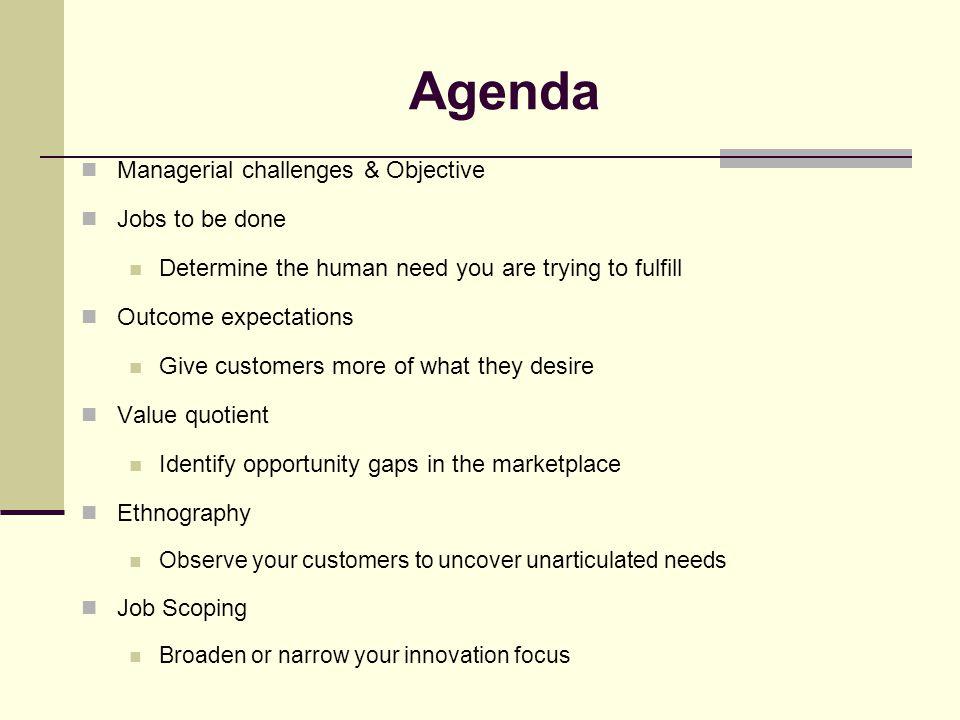 Agenda (cont'd) Lessons learned References Appendices Conclusion