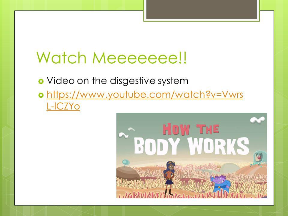 Watch Meeeeeee!.