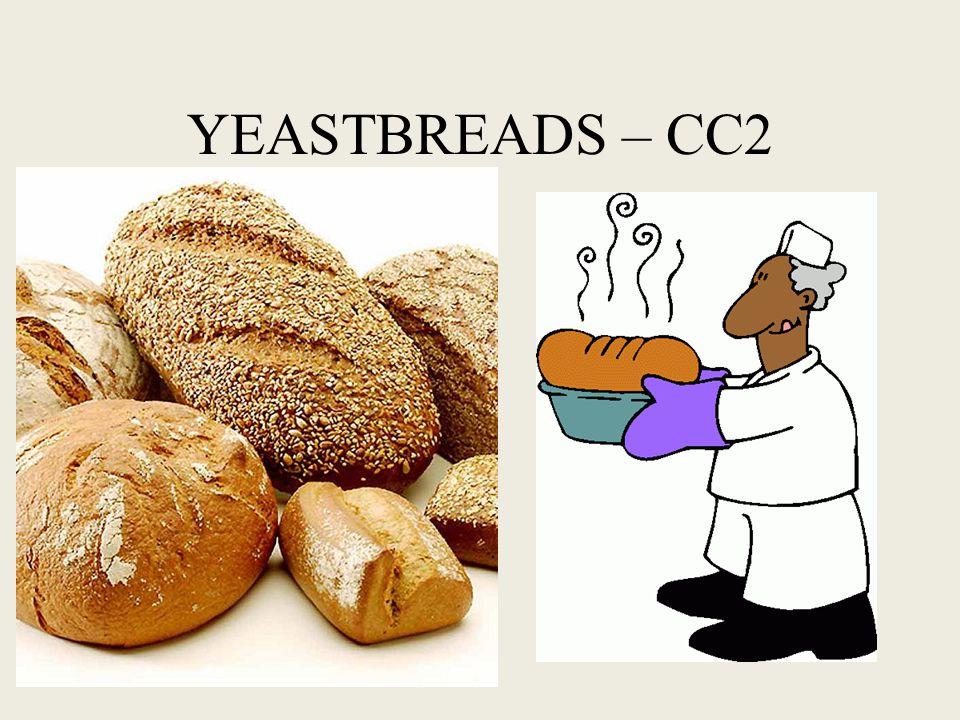 Yeast bread lab recipes Cinnamon swirl bread Foccacia bread