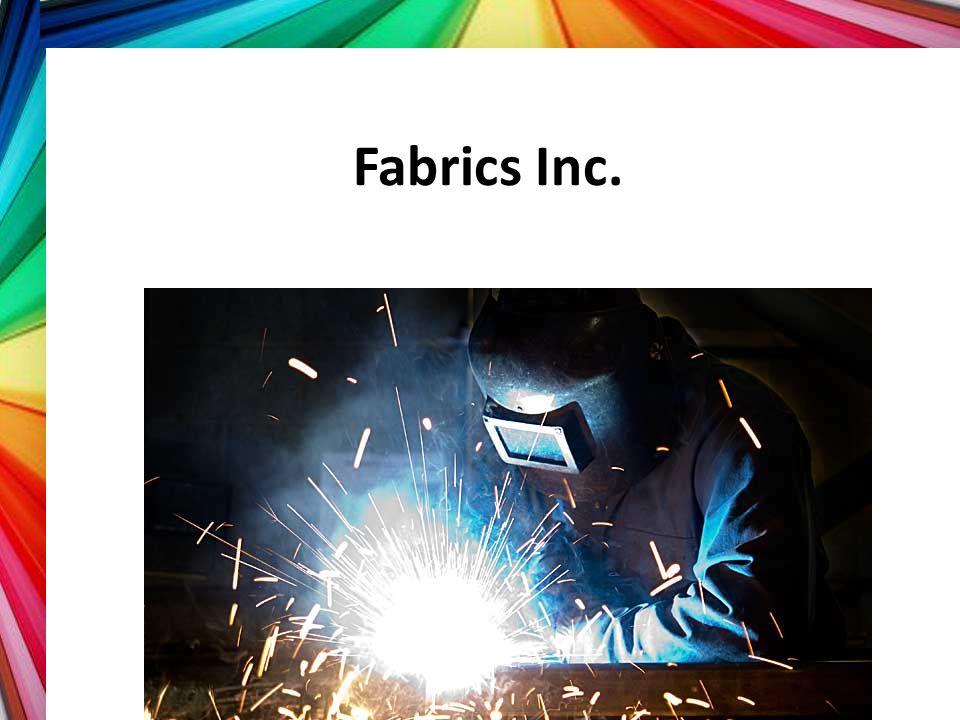 Fabrics Inc. Part 2