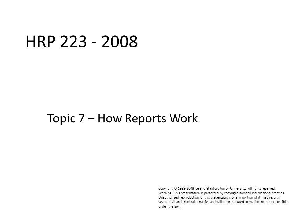 HRP223 2008 Looking Better