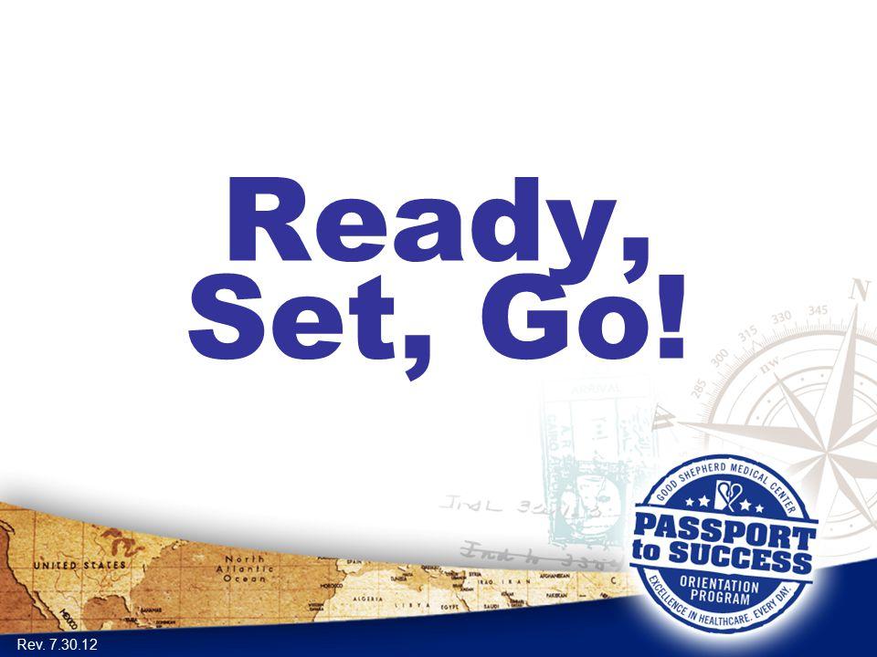Ready, Set, Go! Rev. 7.30.12