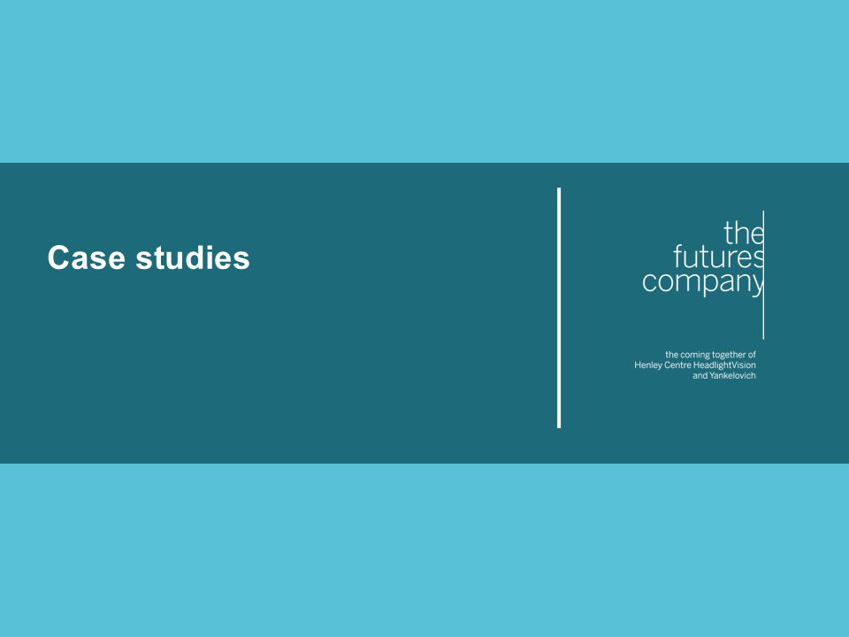 © The Futures Company 2011 ׀ 48 Case studies