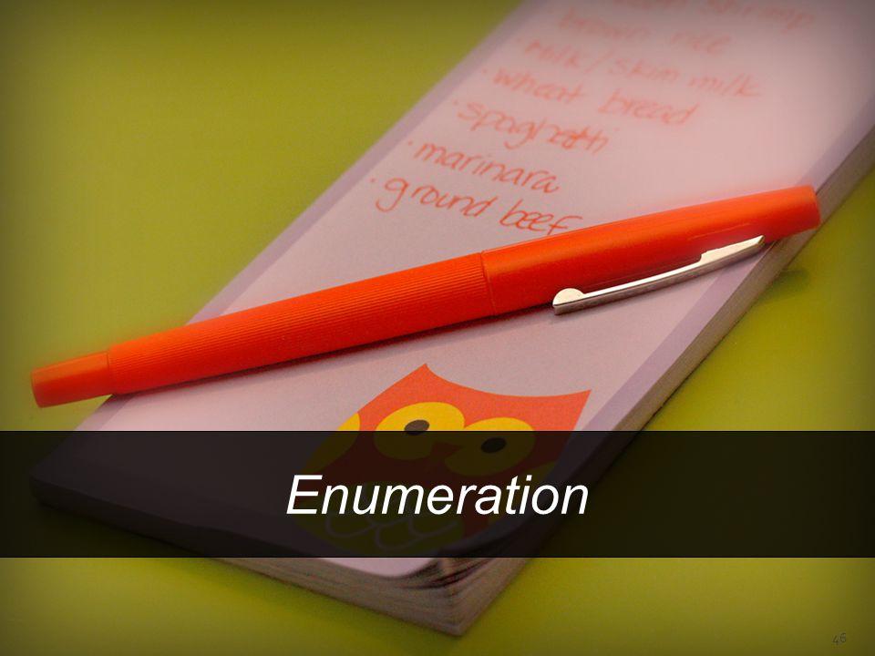 Enumeration 46