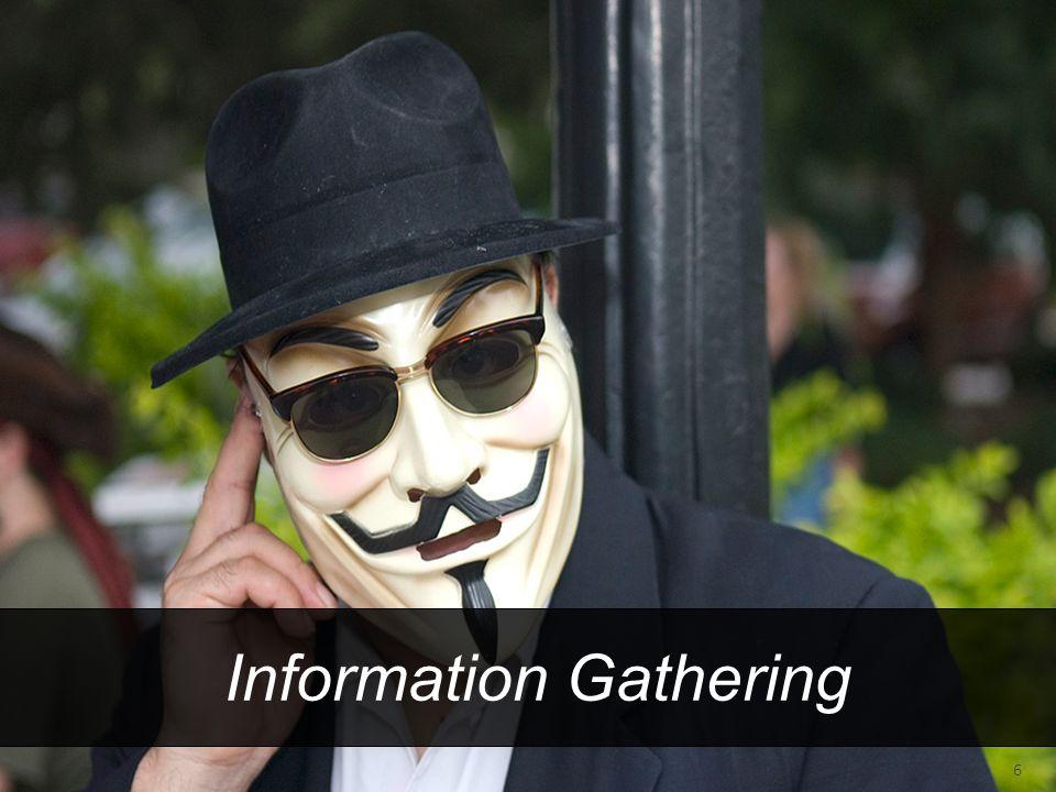 Information Gathering 6
