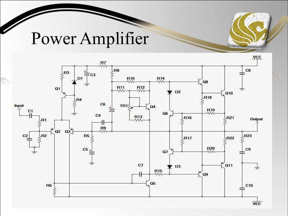Power Amplifier Schematic