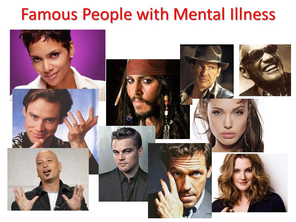 Famous People with Mental Illness