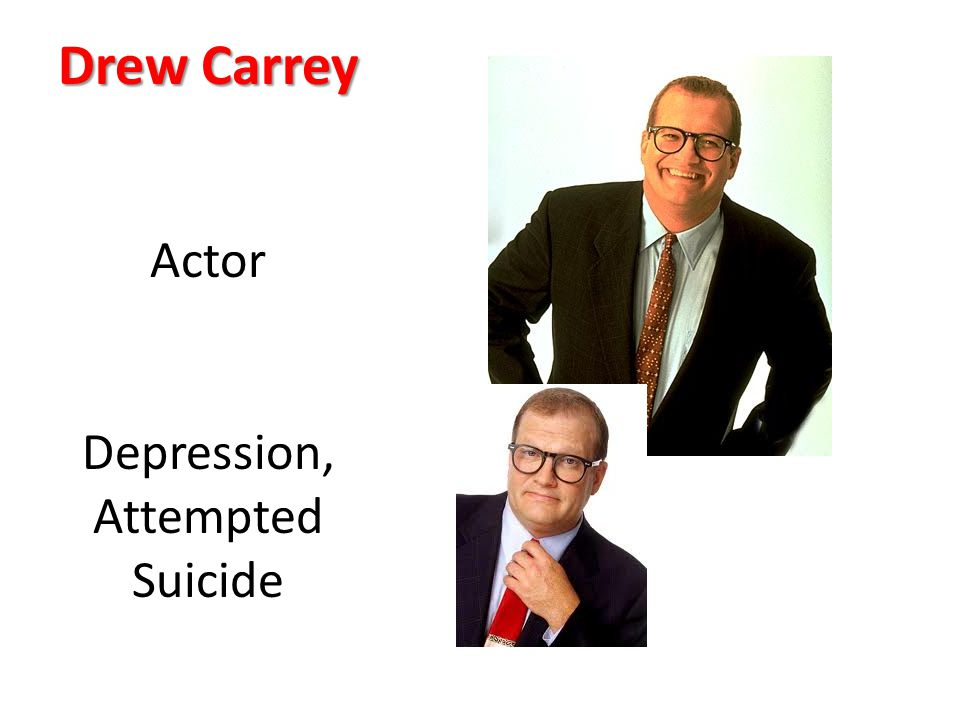 Drew Carrey Actor Depression, Attempted Suicide