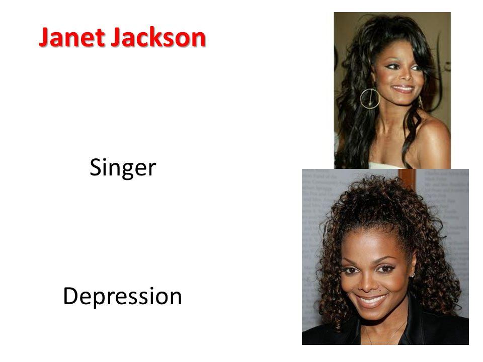Janet Jackson Singer Depression