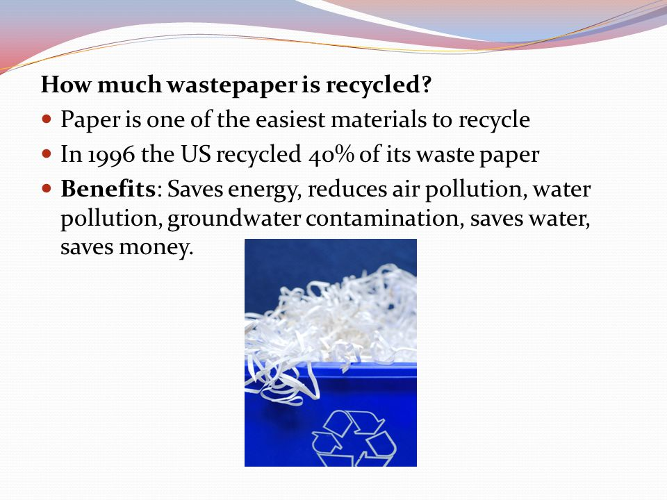 Is it possible to recycle plastics.