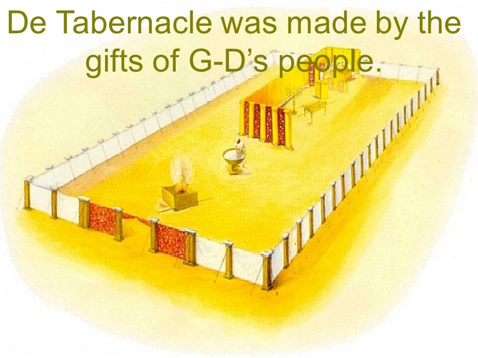 God wil wonen midden tussen zijn volk! The very G-D of Israel who wants to live among His people