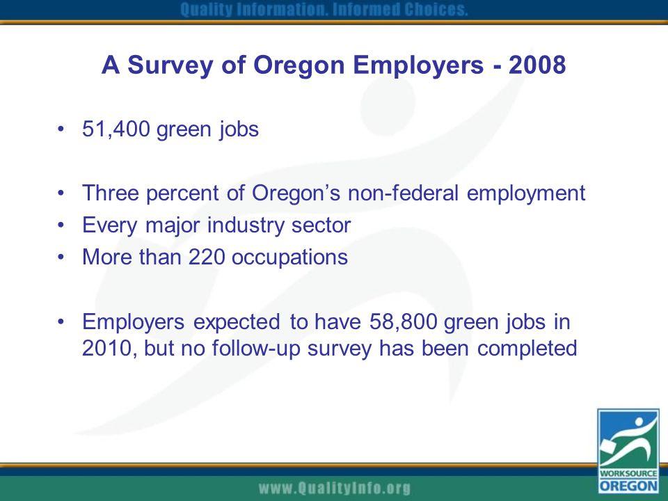 Hiring Trends in Oregon