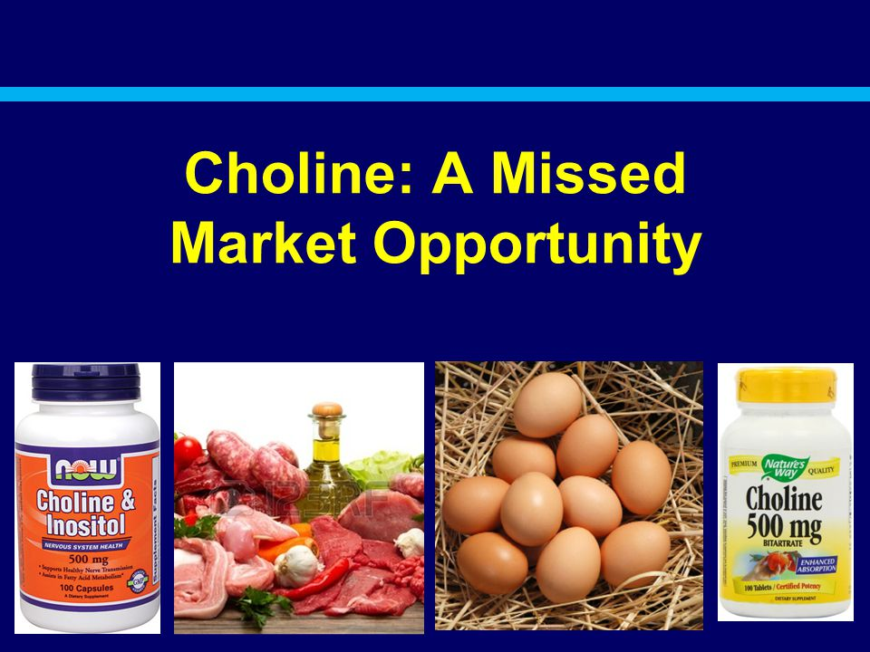 Choline: A Missed Market Opportunity