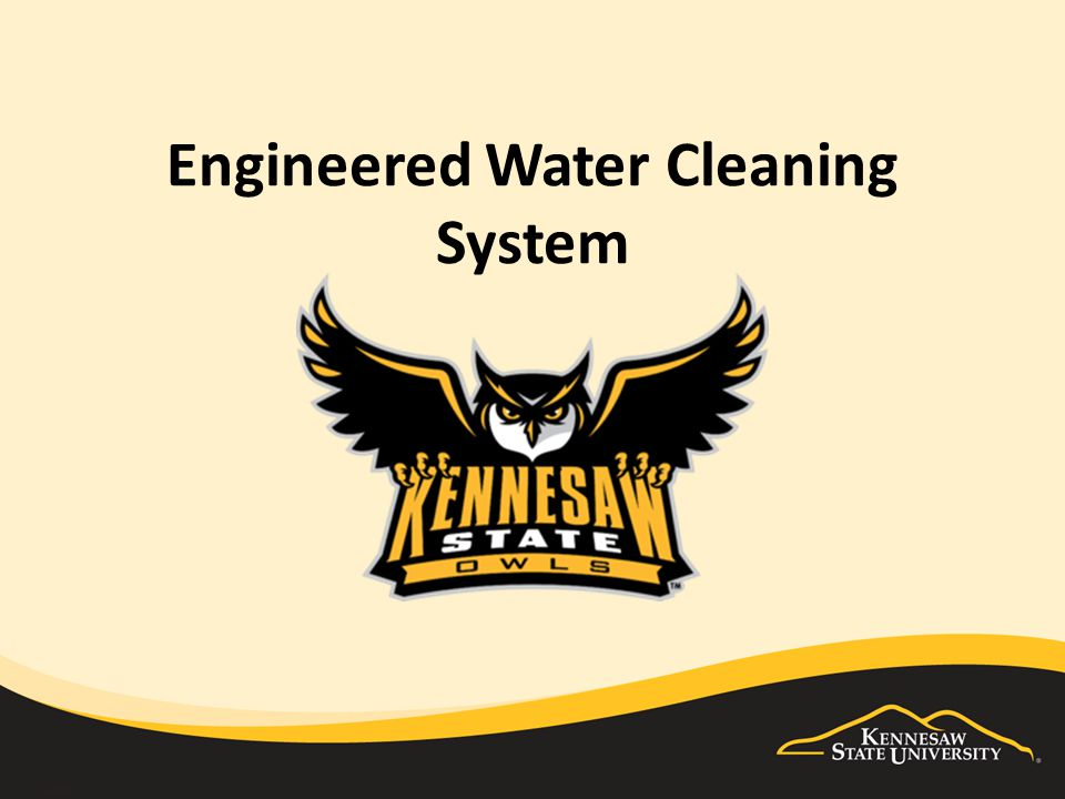 Engineered Water Cleaning System