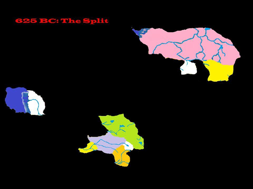 625 BC: The Split