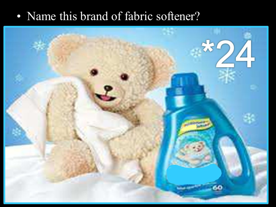 Name this brand of fabric softener